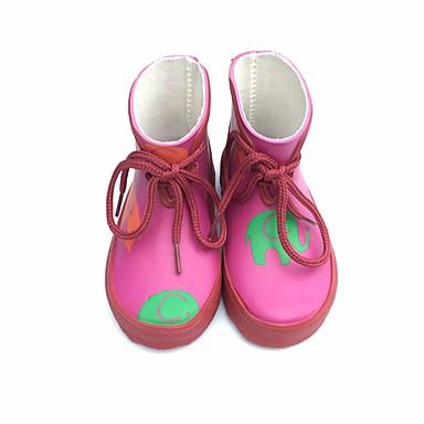 Dla chłopców / Dla dziewczynek Obuwie Guma Zima Gumowce Botki na Zielony / Różowy