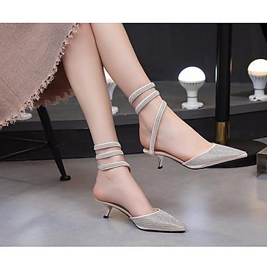 Talon Chaussures Champagne Confort Soie Automne 06640256 Aiguille Printemps Femme Sandales Noir dYgABqqw