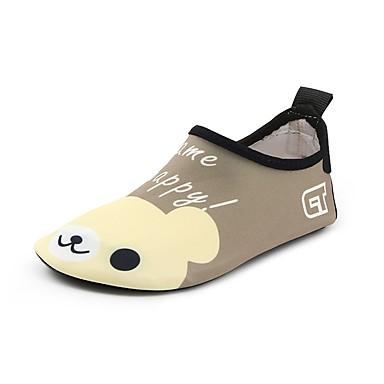 Dla chłopców / Dla dziewczynek Obuwie Spandeks Wiosna / Lato Wygoda Mokasyny i buty wsuwane Wzór zwierzęcy na brązowy