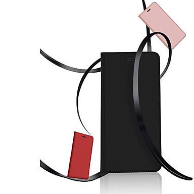 Kılıf Na Huawei P20 / P20 lite Etui na karty / Z podpórką Pełne etui Solidne kolory Twardość Skóra PU na Huawei P20 / Huawei P20 Lite