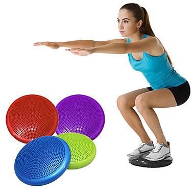 Almofada para Treino de Estabilidade Com PVC Durável Treinamento de Força, Meia Bola de Equilíbrio Para Unisexo Ioga / Exercício e Atividade Física / Ginásio