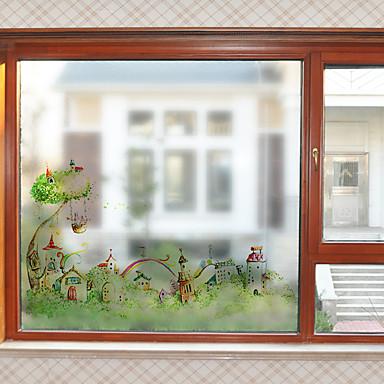 Folie okienne i naklejki Dekoracja Nowoczesny Charakter Polichlorek winylu Naklejka okienna / Matowy / Urząd / Salon