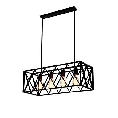 OYLYW 4-luz Lustres Luz Ambiente 110-120V / 220-240V Lâmpada Não Incluída / 10-15㎡ / E26 / E27