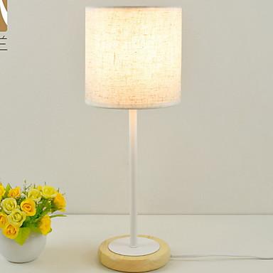 Prosty / Nowoczesny Dekoracyjna Lampa stołowa Na Drewno / Bambus 220-240V