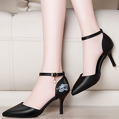 Femme Talon Talons synthétique Basique PU Chaussures microfibre Bout Gladiateur Printemps Escarpin Automne à 06648967 de Aiguille Chaussures rfrAq4xwO