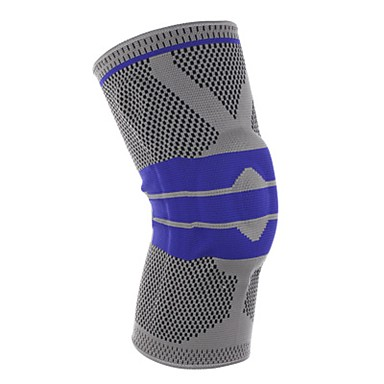 Knee Brace for Racing Basketball Running Impact Resistant Non-Slip Unisex Nylon 1 Piece Sports & Outdoor Black Red Grey
