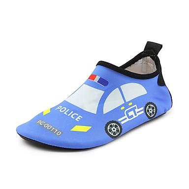hesapli Kız Çocuk Ayakkabıları-Genç Erkek / Genç Kız Spandeks Mokasen & Bağcıksız Ayakkabılar Küçük Çocuklar (4-7ys) / Büyük Çocuklar (7 yaş +) Rahat Hayvan Desenli Kırmzı / Mavi Yaz / TR