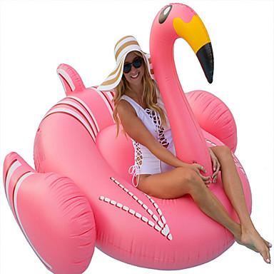 hesapli Oyuncaklar ve Oyunlar-Flamingo Şişme Havuz Şamandıraları Donut Havuz Şamandıraları Dış Mekan PVC / winyl 1 pcs Çocuklar için Yetişkin Hepsi Genç Erkek Genç Kız Oyuncaklar Hediye