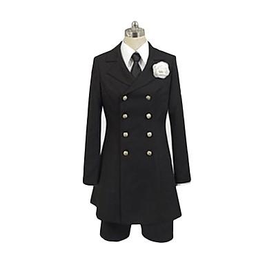 Zainspirowany przez Black Butler Ciel Phantomhive Anime Kostiumy cosplay Garnitury cosplay Inne Długi rękaw Koszula / Bluzka / Spodnie Na Męskie / Damskie Kostiumy na Halloween