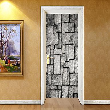 Naklejki na drzwi - Naklejki ścienne 3D 3D Salon / Sypialnia / Łazienka