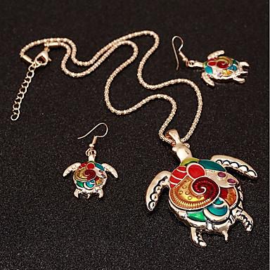Damskie Biżuteria Ustaw - Żółw Etniczne, Kolorowy Zawierać Tęczowy Na Kij Bar
