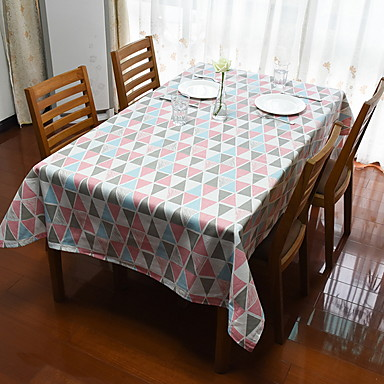 Współczesny PVC Kwadrat Obrusy Geometryczny Dekoracje stołowe 1 pcs