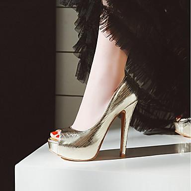 Argent Chaussures Eté 06683389 Confort Similicuir Rose ouvert Femme Soirée Evénement Bout à Chaussures amp; Talon Talons Rouge Aiguille wqIPEB