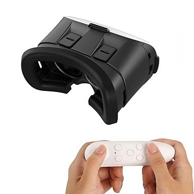 Vr óculos 3d 2.0 versão de realidade virtual de vídeo jogo de vídeo óculos de fone de ouvido com controle remoto