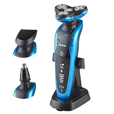 저렴한 면도 & 제모 제품-Kemei 전기 면도기 용 남자 100-240 V 멀티기능 / 휴대용 디자인 / 가볍고 편리함