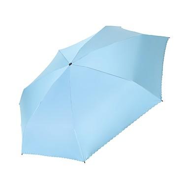 boy® Material Textil Toate Sunny și ploioasă / Rezistent la Vânt / Creative Umbrelă Pliantă