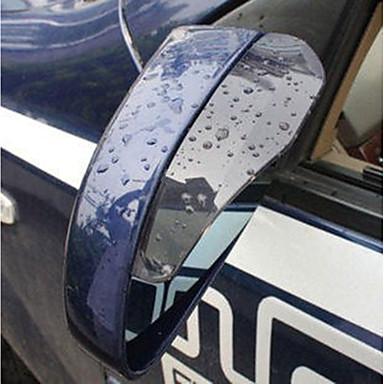 1szt Samochód Brwi deszczu samochodu przezroczysty Typ wklejania For Lusterko wsteczne For Univerzál Wszystkie modele Wszystkie roczniki