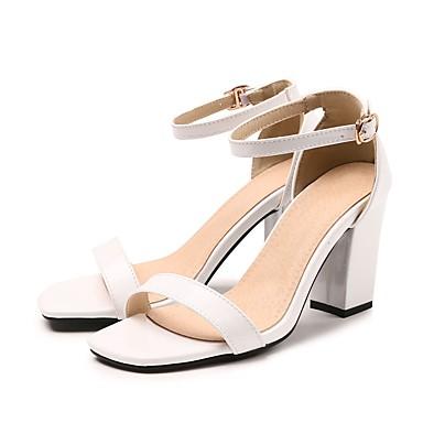 Chaussures Boucle Bottier Femme Sandales Talon Evénement Verni Vert 06684679 Soirée Cuir Bout de Rose Cheville Bride Bleu Eté amp; ouvert R7Szqx7d