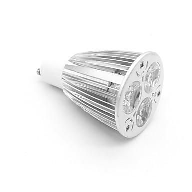 800-900 lm GU10 Spoturi LED MR16 3 led-uri LED Putere Mare Alb Cald AC 85-265V
