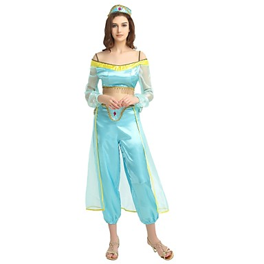 More Costumes / Princess Jasmine Costume Womenu0027s Halloween / Carnival / Childrenu0027s Day Festival / Holiday  sc 1 st  LightInTheBox & More Costumes / Princess Jasmine Costume Womenu0027s Halloween ...