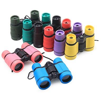 abordables Monoculaires, Jumelles & Télescopes-4 X 30 mm Jumelles Portable Poids Léger BAK4 Camping / Randonnée / Spéléologie ABS + PC