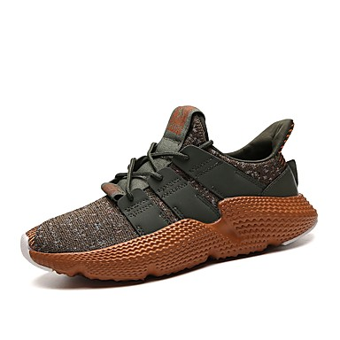 Men's Light Soles Net / Tulle Summer Black Comfort Sneakers Gray / Black Summer / White / Khaki bbfe83