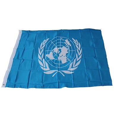 Dekoracje świąteczne Mistrzostwa Świata / Wydarzenia sportowe Flagi Organizacja Narodów Zjednoczonych 1 szt.
