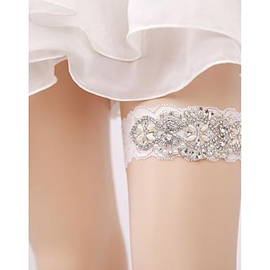 Dantelă Stil Vintage Nunta Garter Cu Piatră Semiprețioasă / Paiete Jartiere Nuntă / Party & Seară
