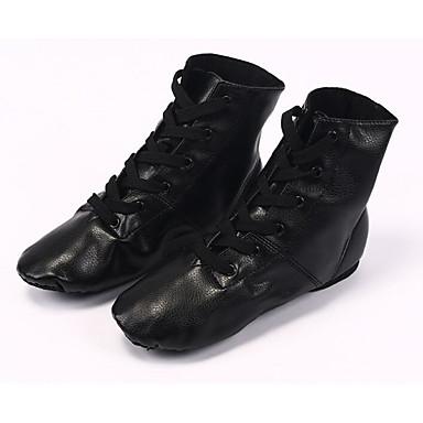 86d92019e2e41 Women's Jazz Shoes PU Flat Flat Heel Dance Shoes Black / Performance /  Practice