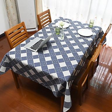 Nowoczesny Kwadrat Obrus Geometric Shape Dekoracje stołowe 1 pcs