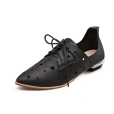 06681708 pointu Rose Noir Similicuir Chaussures été Argent Gladiateur Printemps Femme Bas Oxfords clair dragée Talon Bout qaZfz4nwx7