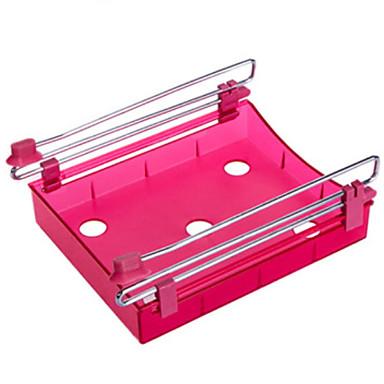 Organizacja kuchni Stojaki i uchwyty Plastik Przechowywanie / Łatwy w użyciu 1szt