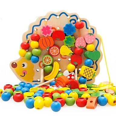 Недорогие Игрушка для обучения чтению-Игрушка для обучения чтению Семья Новый дизайн / Взаимодействие родителей и детей деревянный Детские Подарок 1 pcs