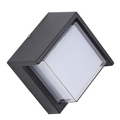 Matowy / a Prosty Lampy ścienne Sypialnia / Na wolnym powietrzu Aluminium Światło ścienne 12 W / E27