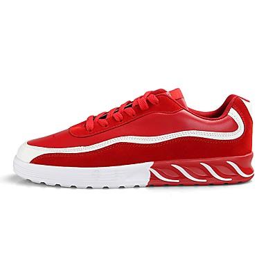 Men's PU(Polyurethane) Summer Comfort Sneakers Red Black / Gray / Red Sneakers 43c34c