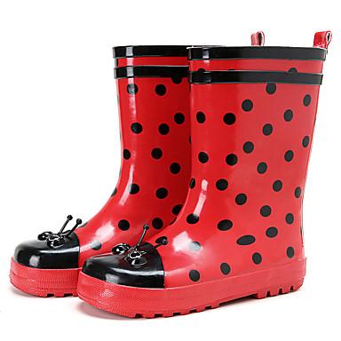 Dla dziewczynek Obuwie Guma Wiosna lato Gumowce Buciki na Czerwony