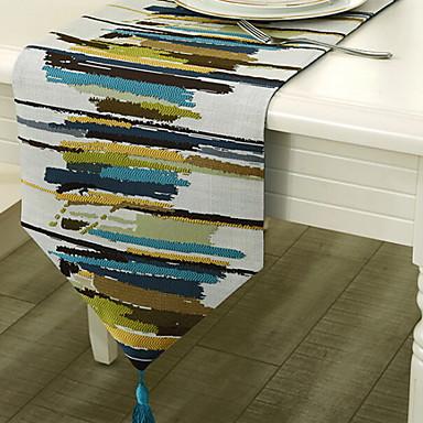 Nowoczesny Bawełna Kwadrat Bieżniki Geometric Shape Dekoracje stołowe 1 pcs