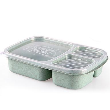 Organizacja kuchni Pudełka śniadaniowe / Skrzynki magazynowe Plastik Przechowywanie 1 szt.