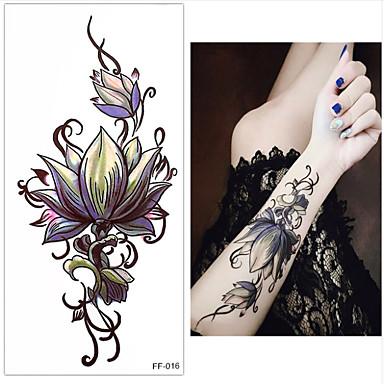 3pcs Naklejki i taśmy klejące / Naklejka Seria kwiatowa Naklejki z tatuażem