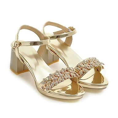 amp; Talon Rose Soirée Chaussures Noir Bottier Similicuir Sandales 06683926 Femme Boucle Eté Confort ouvert Argent Bout Strass Evénement OXUwZqZ