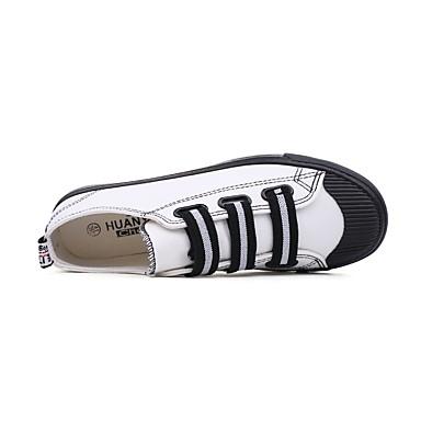 redondo Mujer deporte Dedo Plano Primavera Tacón PU Lazo sintético Corbata 06675946 Zapatillas microfibra Zapatos verano de de Vulcanizado Zapatos 141rvn6
