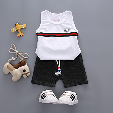 Copii / Copil Băieți Mată Fără manșon Set Îmbrăcăminte