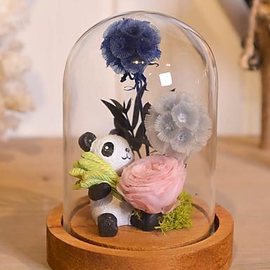 Sztuczne Kwiaty 1 Gałąź Elegancki Róże Bukiety na stół