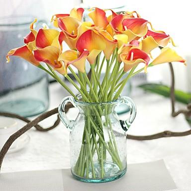 Sztuczne Kwiaty 8.0 Gałąź Elegancki / Rustykalny Kalia liliowa / Wieczne Kwiaty Bukiety na stół