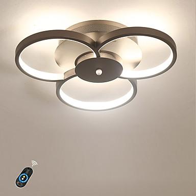 Ecolight™ Linijska Montaj Flush Lumini Ambientale Pictate finisaje Aluminiu Acrilic Intensitate Luminoasă Reglabilă, Încântător 110-120V / 220-240V Alb Cald / Alb / Dimmable cu telecomandă Bec Inclus