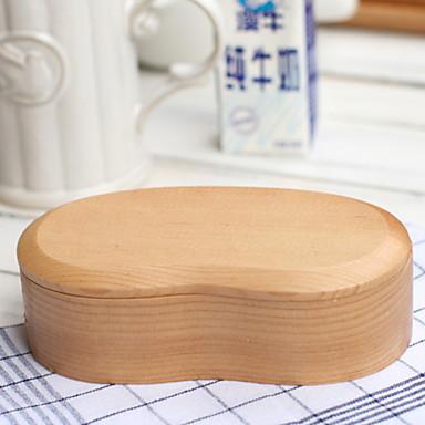 Organizacja kuchni Pudełka śniadaniowe Drewno Łatwy w użyciu 1 szt.