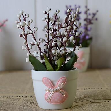 Flori artificiale 1 ramură Clasic Stilat / Rustic Prună Flori Podea