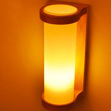 Anti Orbire Rustic / Cabană Becuri de perete Dormitor Lemn / bambus Lumina de perete 220-240V 40 W