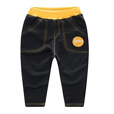 Copil Băieți De Bază Sport Peteci Peteci Bumbac Pantaloni