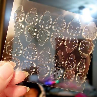voordelige Nagelgereedschap & Apparatuur-5 stuks Tips voor kunstmatige nagels Nail Art Tool Nail Art Kit Voor Modieus Design / Duurzaam Nagel kunst Manicure pedicure Gepersonaliseerde / Decoratief Dagelijks / Oefenen